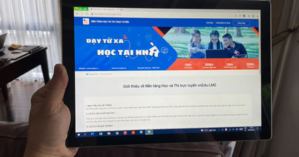 Cong nghe giao duc hut von